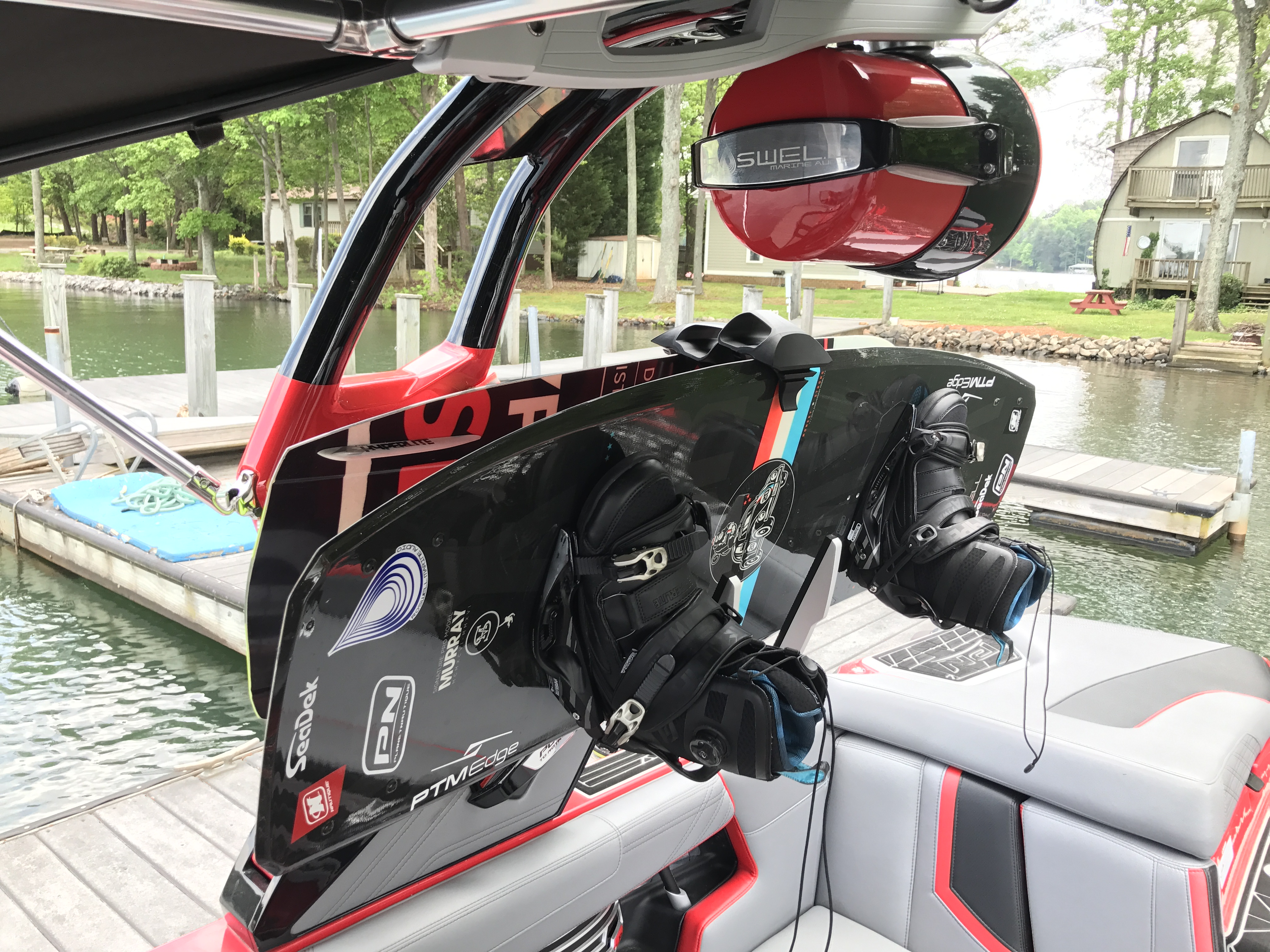 Review of the Nautique Strapless Board Rack by Roswell (Triton Racks on