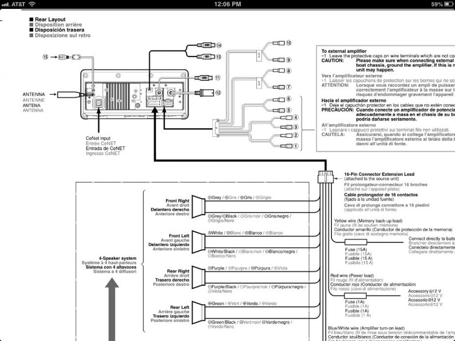 21 Lovely Clarion Cmd4 Wiring Diagram