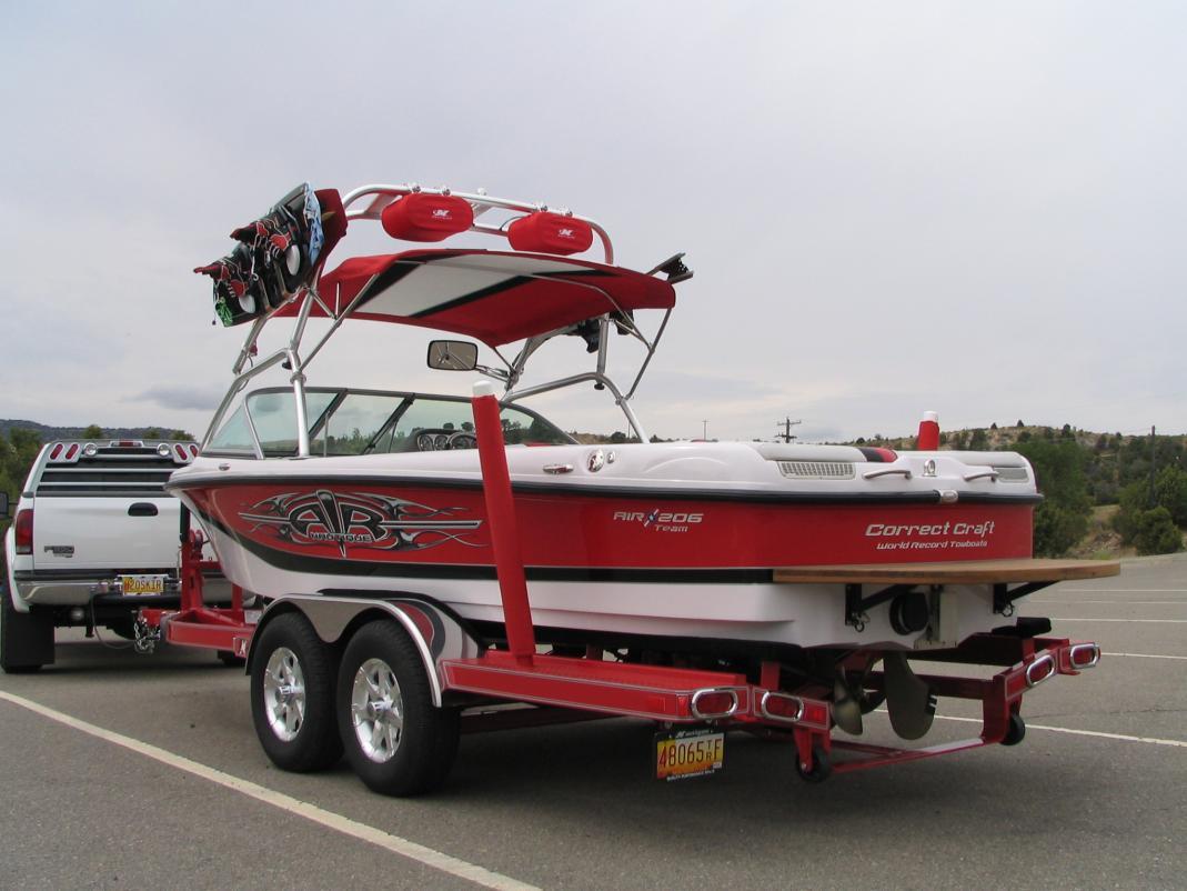 "Boat Trailer Guides >> 2006 Ski Nautique 206 ""Showroom Condition"" For Sale ..."