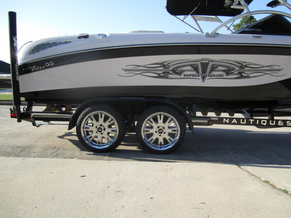 New Rims And Tires For The Boat Trailer Planetnautique Forums