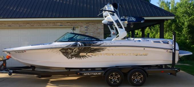 OPINION Decal Remove Change Or Keep PlanetNautique Forums - Bass boat decals   easy removal